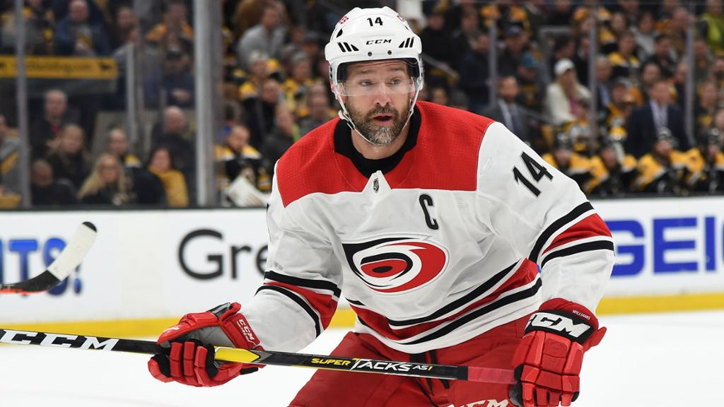 Williams announces retirement from NHL