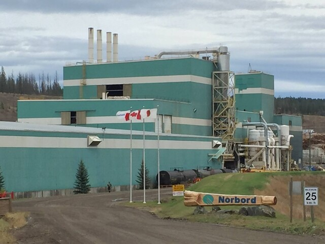 100 Mile House Oriented Strandboard Mill Shuts Down To Permanently Close - BC News