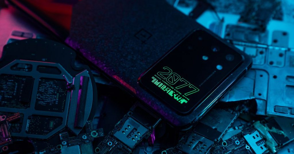 OnePlus Cyberpunk 2077-themed 8T is one of the biggest camera modules I've seen