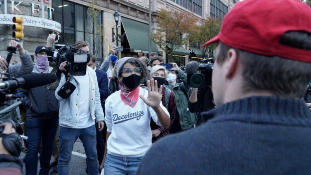 Protesters want all votes counted as lawsuit drags Team Trump into Pennsylvania