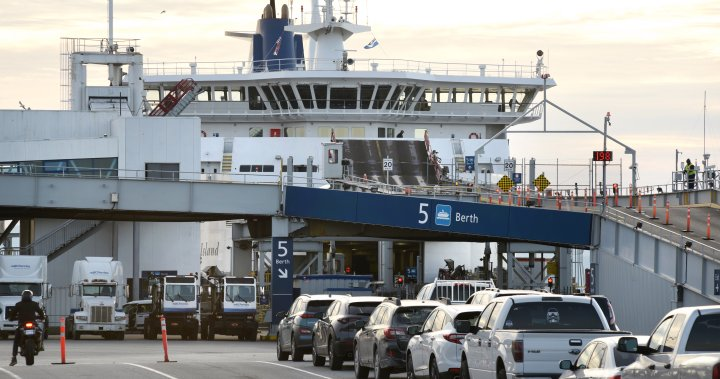 RCMP helps keep BC Ferries passengers out of enclosed decks