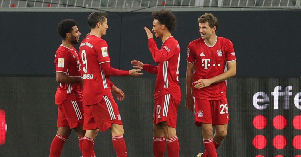 Bayern won 3-2 over Dortmund