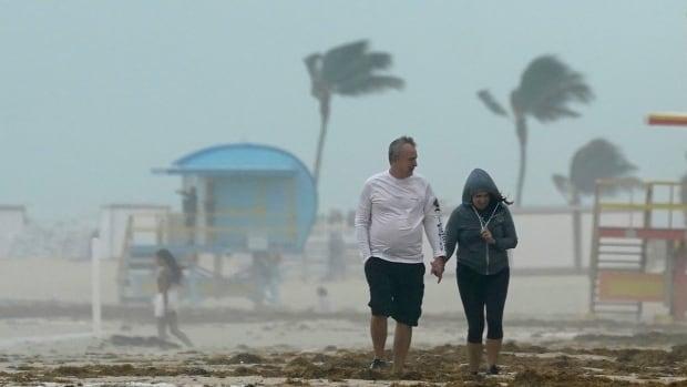 Tropical cyclone Eta hits Florida Keys;  Hurricane is expected