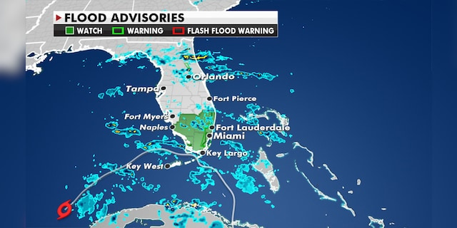 Tropical cyclone Eta is still pouring heavy rain over parts of South Florida.