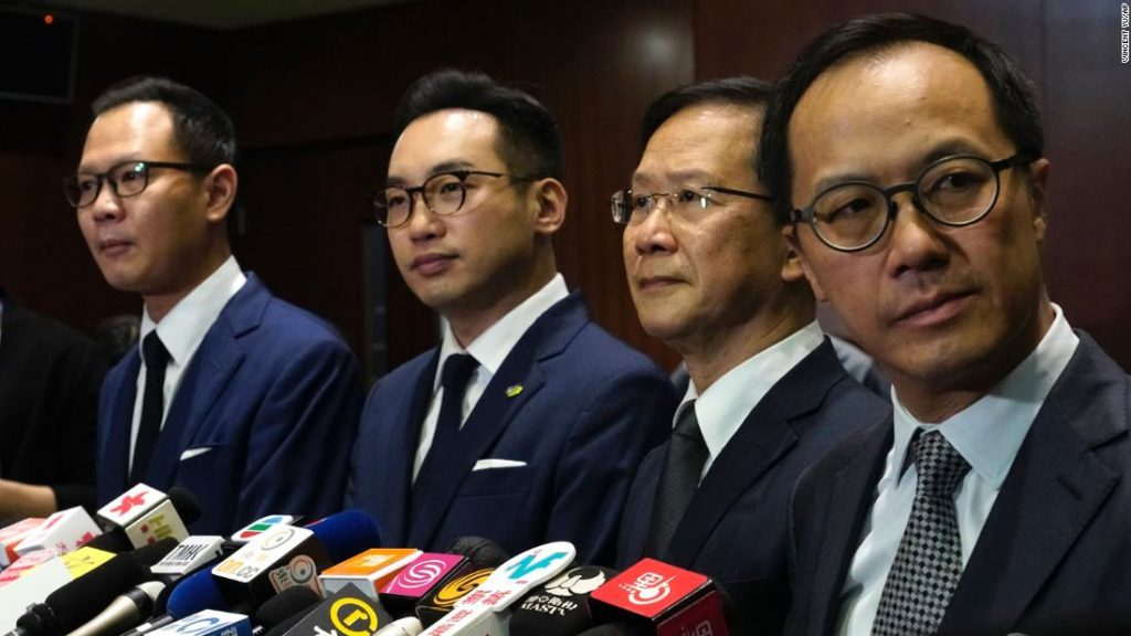Hong Kong pro-democracy lawmakers have resigned en masse following Beijing rules