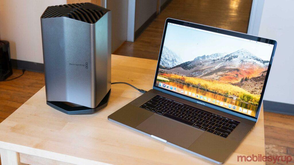 MacBook Pro eGPU