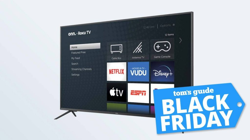 Walmart Black Friday sales started at $ 128 with a 50-inch 4K TV
