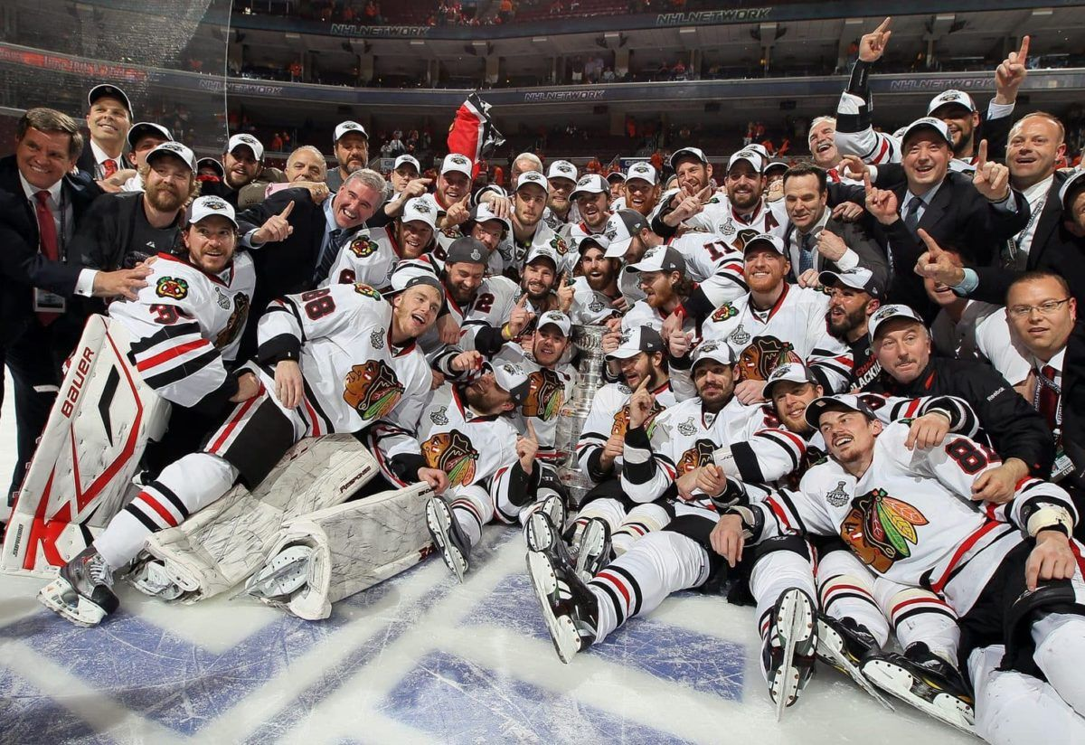 Chicago Black Hawks, 2010 Stanley Cup Champions