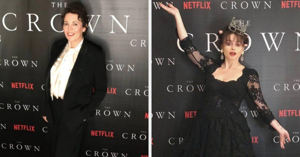 Crown Season 4 premiere at home