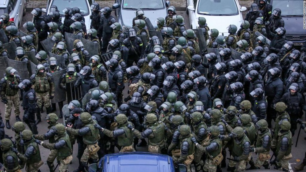 At least 1,000 people were detained in Belarus in a single day following the death of a protester