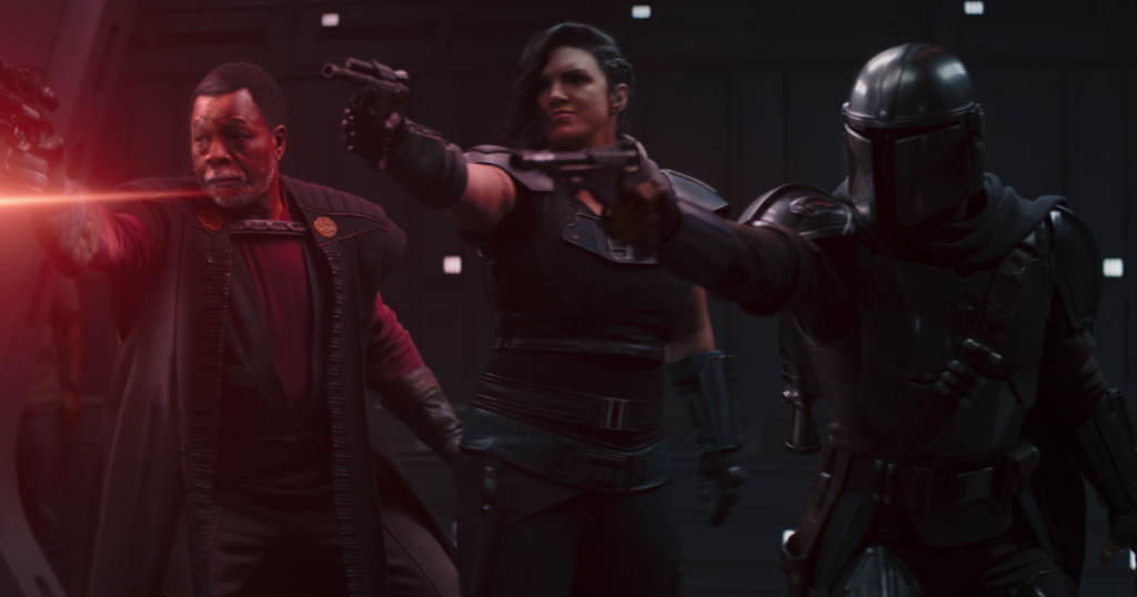 Mandolorian Episode 4 Revealed ... The man wearing the t-shirt and jeans?