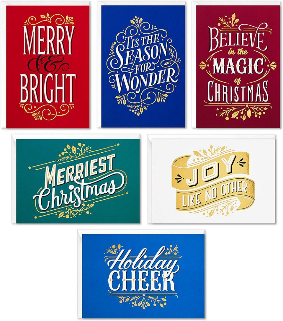 These cards are beautiful and bright.  (Photo: Amazon)