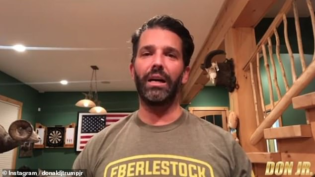 Dan Jr. posted a video on his Instagram on Friday night confirming his diagnosis.