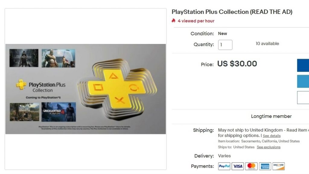 PS5 owners use loopholes to sell PS Plus collection to PS4 owners • Eurogamer.net