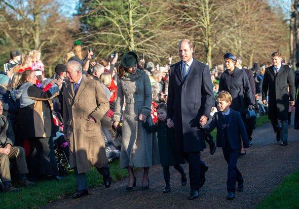 Royal Family Christmas: Members usually go to church in Sandrignham on Christmas day.