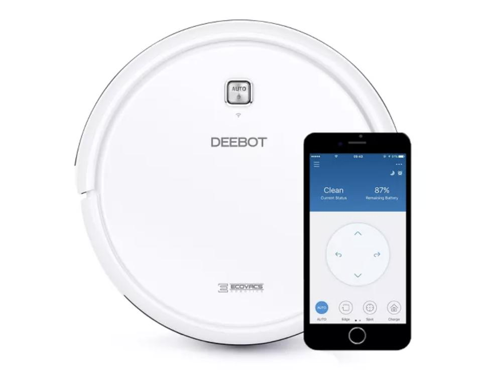 EcoWax Debot N79W Multi-Surface Robot Vacuum Cleaner with Application Control
