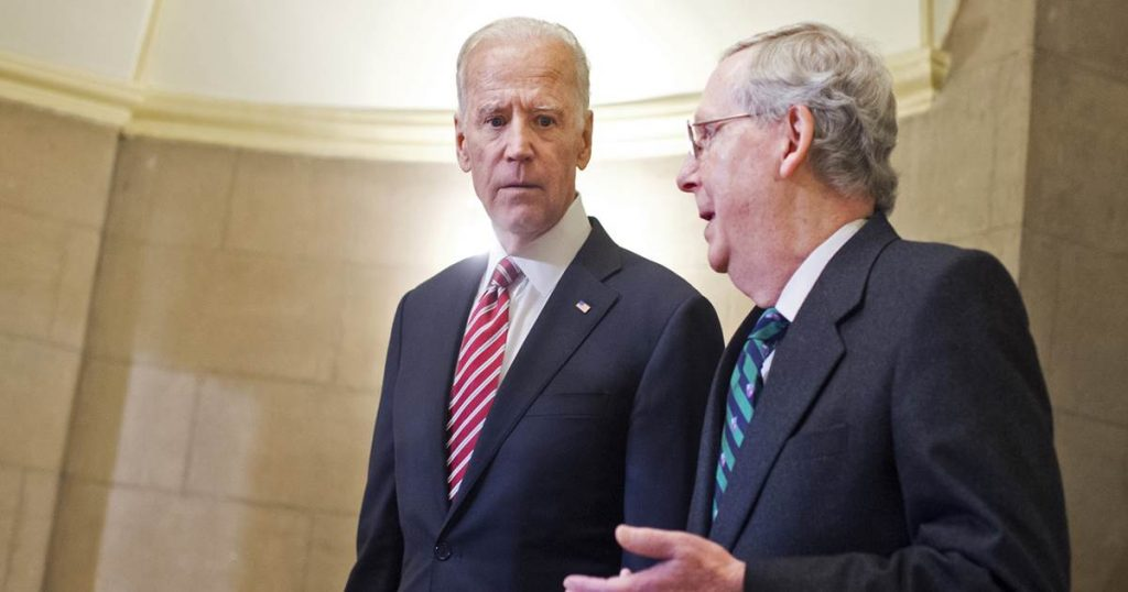 The most important relationship in DC?  Biden and McConnell have a history