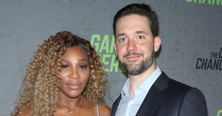 Alexis Ohanian's thirsty tweet about Serena Williams