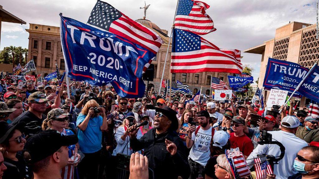 Arizona presidential election: Trump campaign sues, demanding review of ballots
