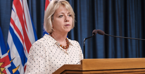 BC health officials hope to address sanctions in the COVID-19 update