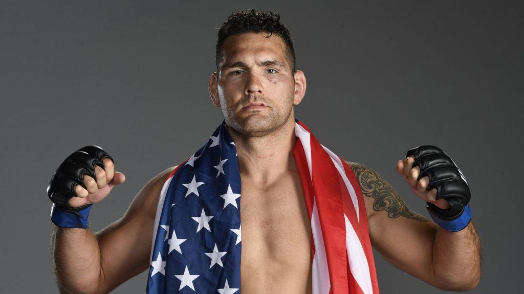 Chris Weidman vs. Urea Hall will return for UFC 258 on February 13