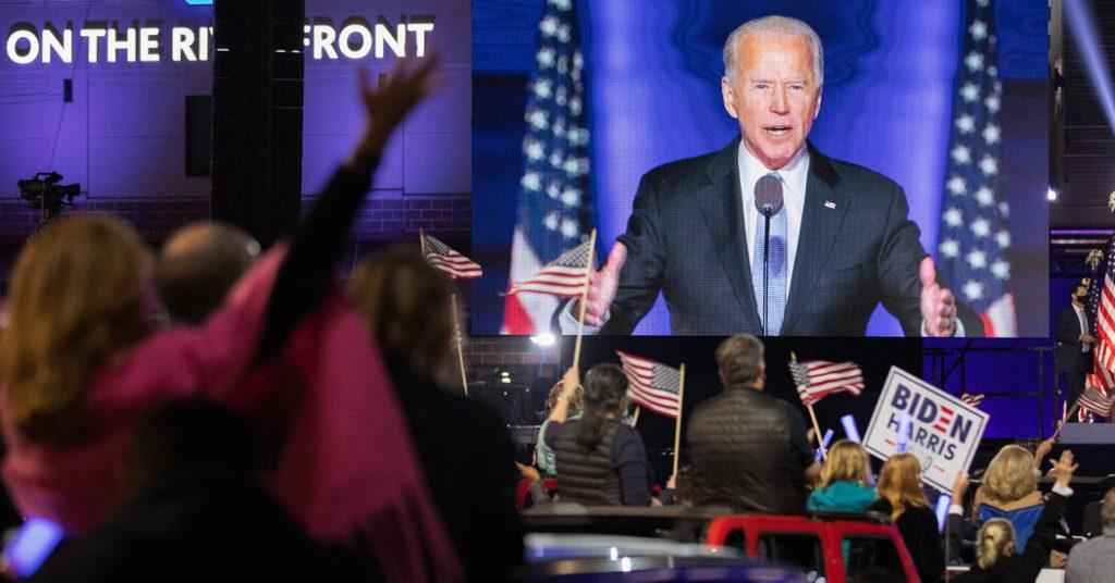 Five takeaways from President-elect Biden's victory speech