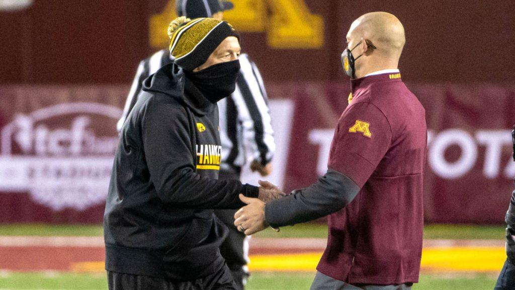 Friday night was zero cold for Iowa and Cincinnati