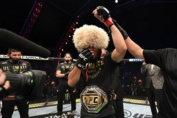 In the Normagomedov return still play, the UFC lightweight title is not blank