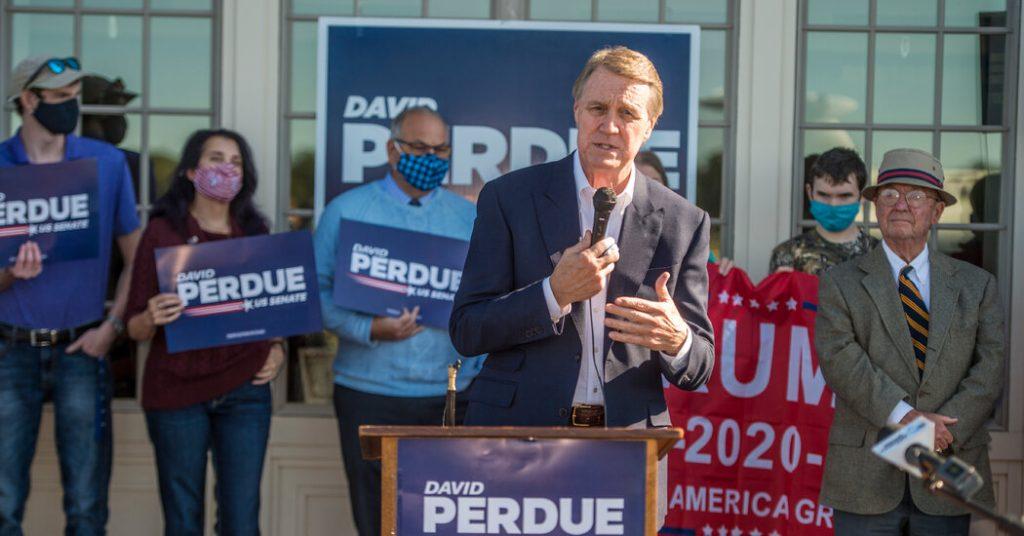 Joan Osaf and David Purdue go to Georgia Senate Race Runoff