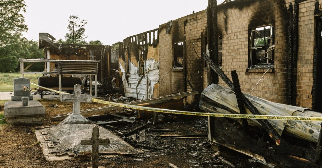 Man sentenced to 25 years in prison for burning 3 black churches in Louisiana