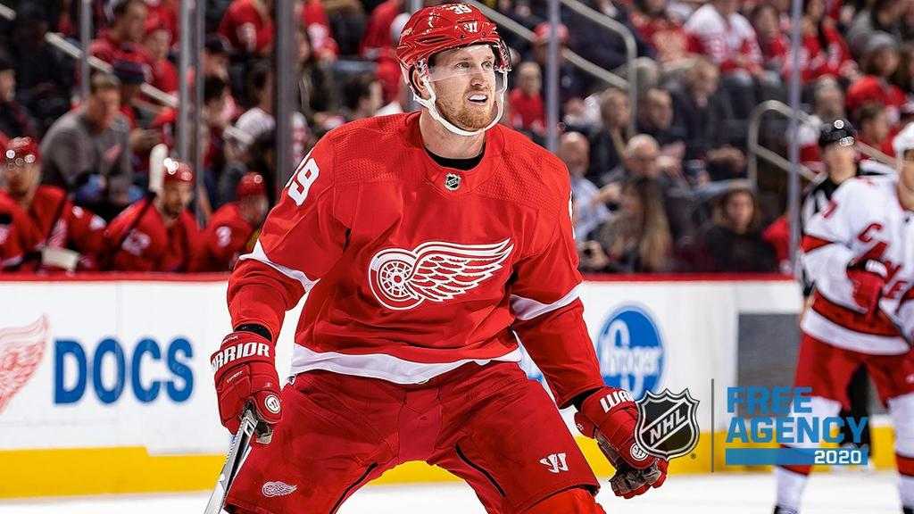 Manta has signed a four-year deal with the Red Wings