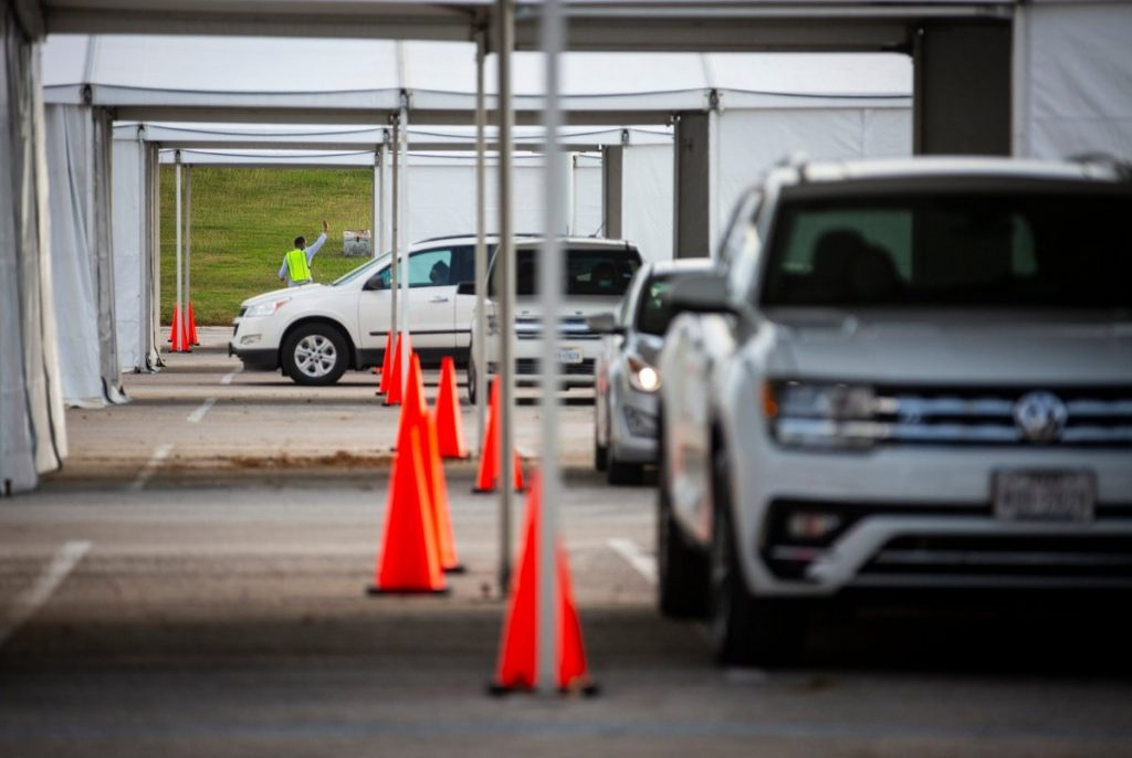 Nearly 127K Texas drive-through votes appear safe after the judge dismissed the case