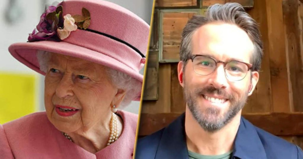Ryan Reynolds responds to the Queen launching her own gin