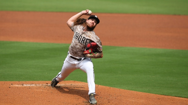 San Diego Padres P. Mike Clevinger has signed a two-year contract
