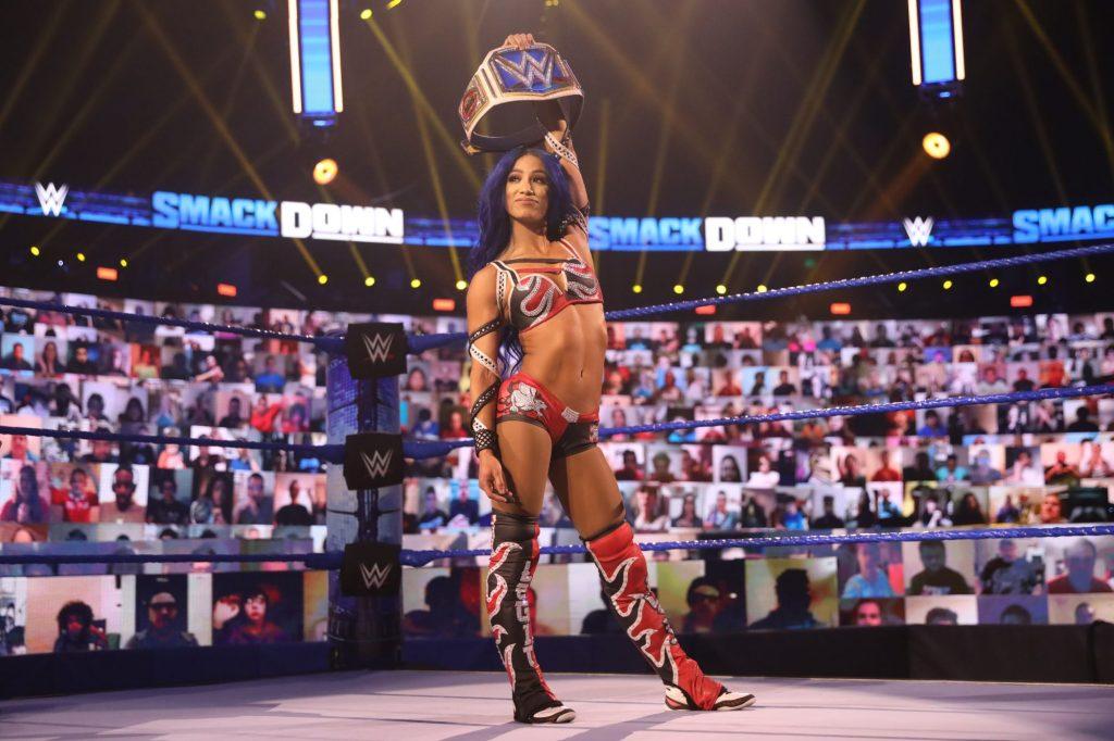 Sasha Banks 'Mandolorian,' 'Survivor Series'