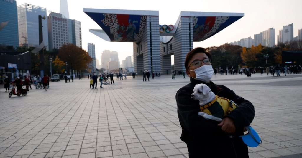 South Korea daily COVID cases above 200;  Face mask fines begin |  South Korea