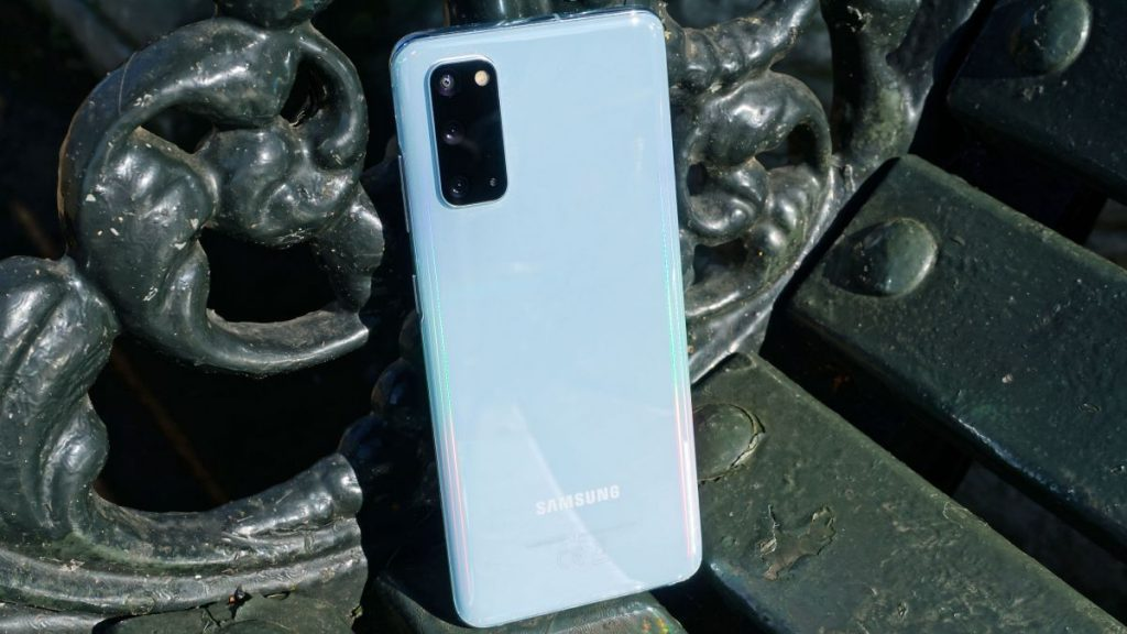The Samsung Galaxy S21 looks ugly in one case and can be unlocked with your voice