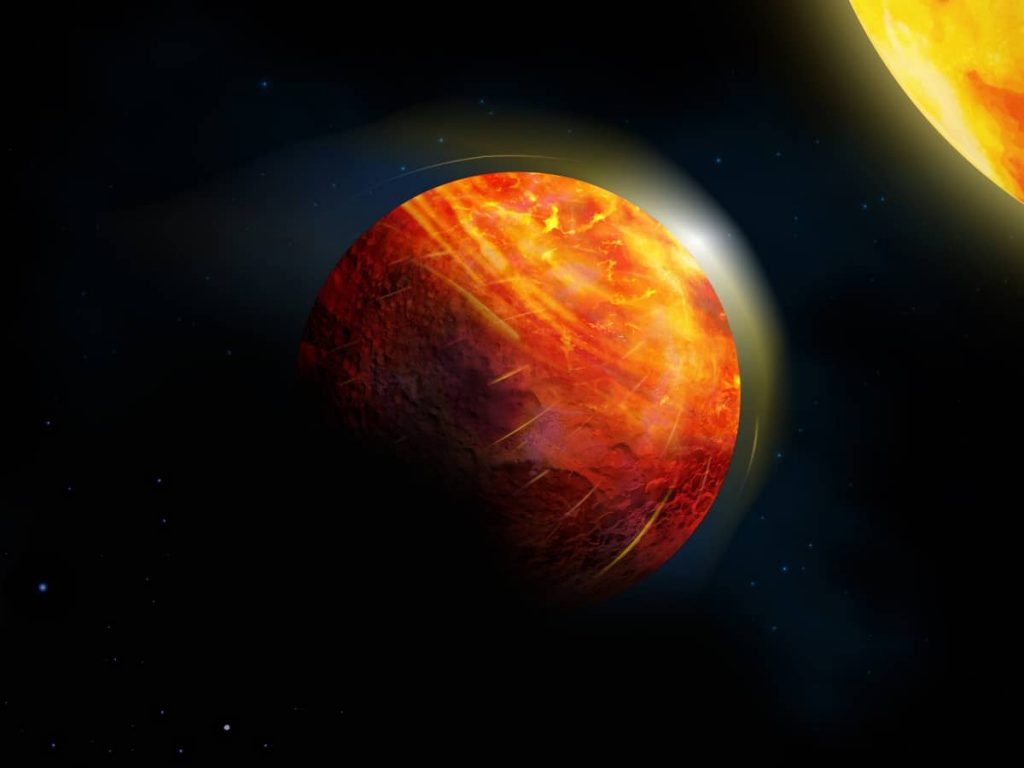 This lava planet has supersonic winds and hail