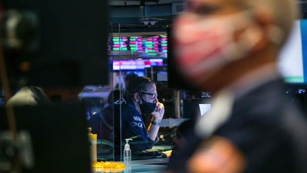 US futures eliminate losses;  Treasury, dollar jump in still undecided elections