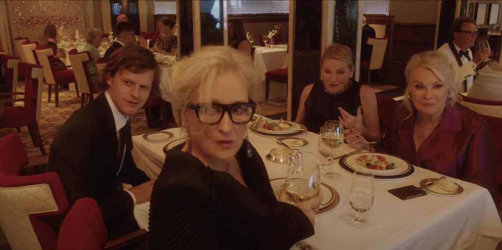 Watch Meryl Streep in the first trailer for Soderbergh's 'Let Them All Talk'.