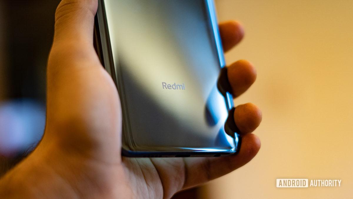 Close the Redmi Note 9 Pro logo