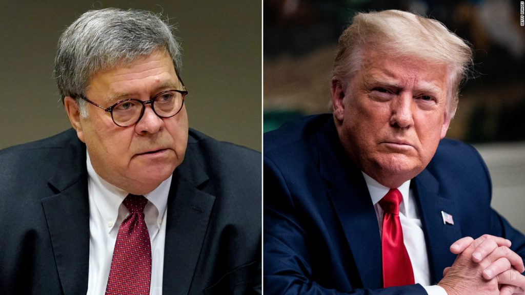 Trump and Barr held a 'controversial' White House meeting this week
