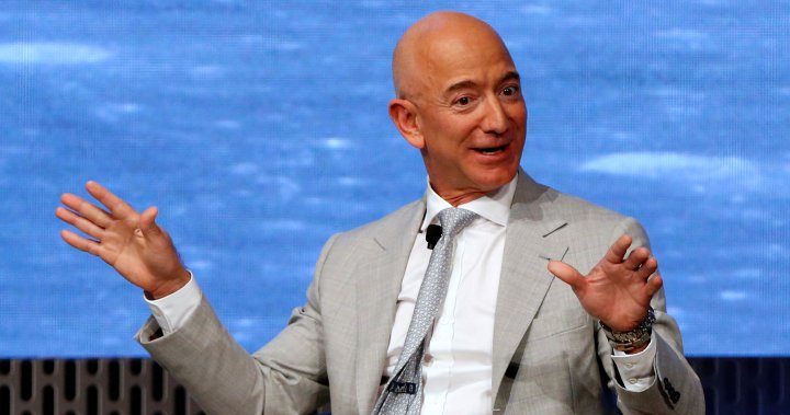 Jeff Bezos space agency says Blue Origin will take 1st woman to the moon - National