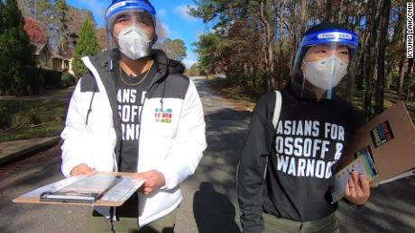 & # 39;  We can swing vote & # 39 ;: Asian Americans play a key role in Georgia's runoff strategy
