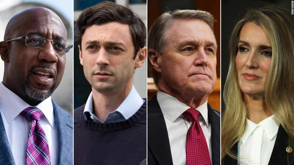 Georgia: All eyes are on the state ahead of the Trump rally and the Senate debate