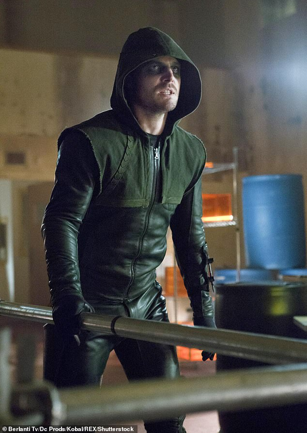 Superhero: Amel is best known for playing Oliver Queen / Green Arrow in the CW Series Arrow (2012-2020), which was rolled out eight seasons earlier this year.