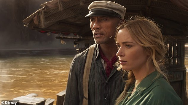 Even Late: Another big budget project to come from Emily this summer is her Disney action adventure Jungle Cruise opposite Dwayne Johnson
