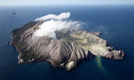 White Island / Wakari volcano is just 50 km away.