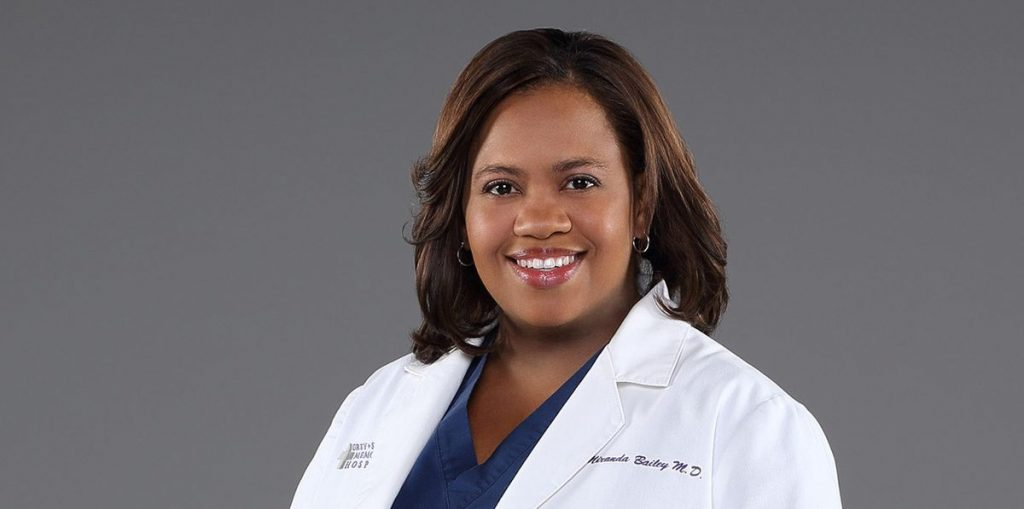 Chandra Wilson of Grace Anatomy addressed the event with a view to her future