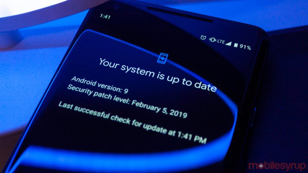 Updates on Android phones may be a little better